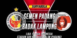 Prediksi Semen Padang vs Badak Lampung