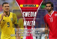 Prediksi Swedia vs Malta