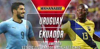 Prediksi Uruguay vs Ekuador