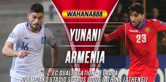 Prediksi Yunani vs Armenia