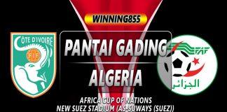 PREDIKSI PANTAI GADING VS ALGERIA