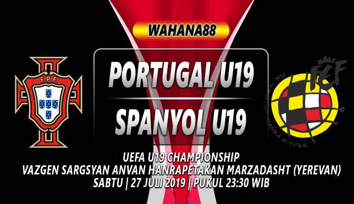 PREDIKSI PORTUGAL U19 VS SPANYOL U19