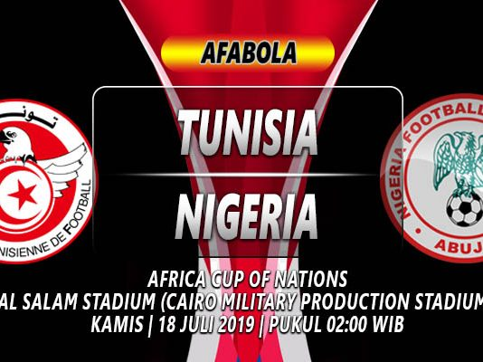PREDIKSI TUNISIA VS NIGERIA