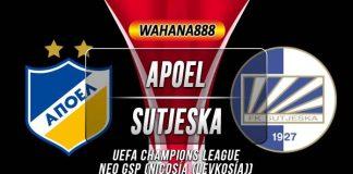 Prediksi APOEL vs Sutjeska