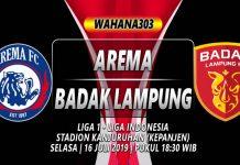 Prediksi Arema vs Badak Lampung