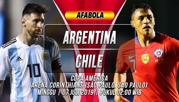Prediksi Argentina vs Chile