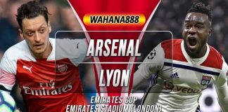 Prediksi Arsenal vs Lyon