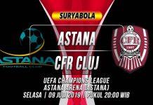 Prediksi Astana vs CFR Cluj