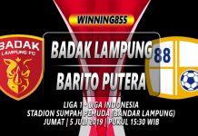 Prediksi Badak Lampung vs Barito Putera