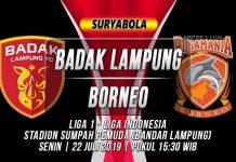 Prediksi Badak Lampung vs Borneo