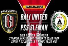 Prediksi Bali United vs PSS Sleman : Kedua Tim Akan Perbaiki Kesalahan Mereka Di Laga Sebelumnya
