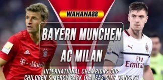 Prediksi Bayern Munchen vs AC Milan