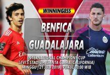 Prediksi Benfica vs Guadalajara