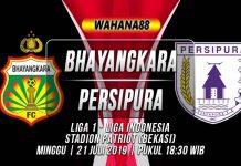 Prediksi Bhayangkara vs Persipura