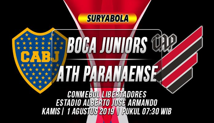 Prediksi Boca Juniors vs Athletico Paranaense