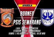 Prediksi Borneo vs PSIS Semarang