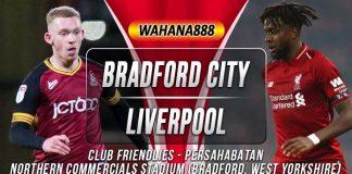 Prediksi Bradford City vs Liverpool