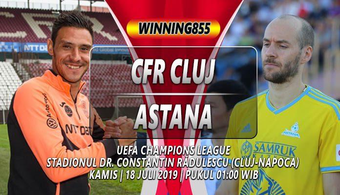 Prediksi CFR Cluj vs Astana