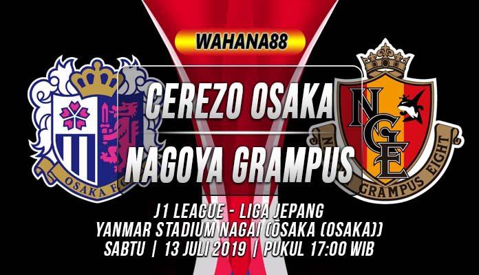 Prediksi Cerezo Osaka vs Nagoya Grampus
