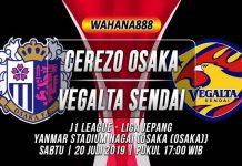 Prediksi Cerezo Osaka vs Vegalta Sendai