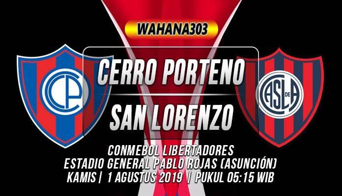 Prediksi Cerro Porteno vs San Lorenzo