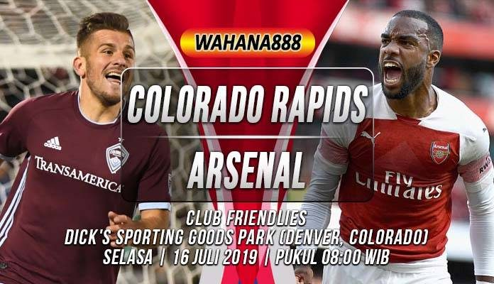 Prediksi Colorado Rapids vs Arsenal