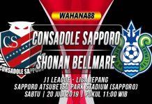 Prediksi Consadole Sapporo vs Shonan Bellmare