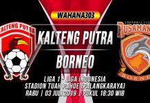 Prediksi Kalteng Putra vs Borneo