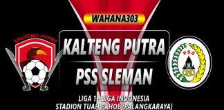 Prediksi Kalteng Putra vs PSS Sleman