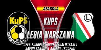 Prediksi KuPS vs Legia Warszawa 01 Agustus 2019