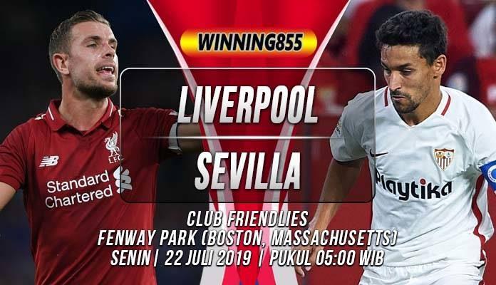 Prediksi Liverpool vs Sevilla