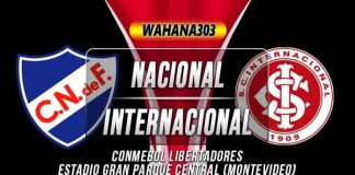 Prediksi Nacional vs Internacional