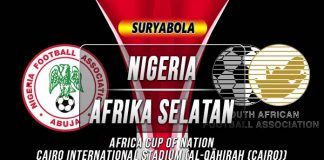 Prediksi Nigeria vs Afrika Selatan