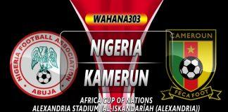 Prediksi Nigeria vs Kamerun
