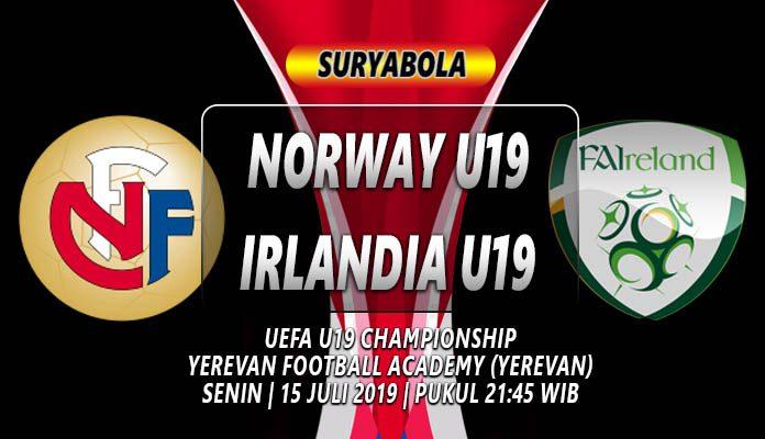 Prediksi Norway U19 vs Irlandia U19