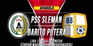 Prediksi PSS Sleman vs Barito Putera
