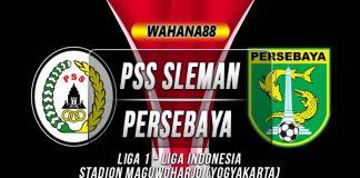 Prediksi PSS Sleman vs Persebaya Surabaya