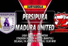 Prediksi Persipura vs Madura United