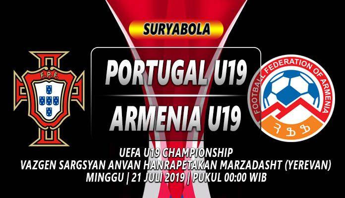 Prediksi Portugal U19 Vs Armenia U19