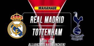 Prediksi Real Madrid vs Tottenham Hotspur