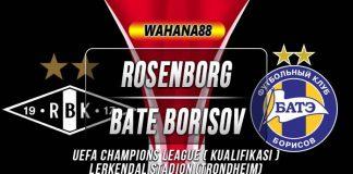 Prediksi Rosenborg vs BATE Borisov