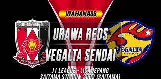 Prediksi Urawa Reds vs Vegalta Sendai