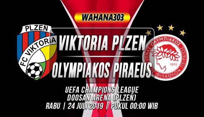 Prediksi Viktoria Plzen vs Olympiakos Piraeus