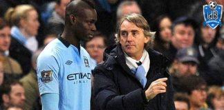 Balotelli Mancini Manchester City