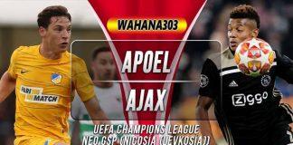 Prediksi APOEL vs Ajax