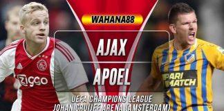 Prediksi Ajax vs APOEL