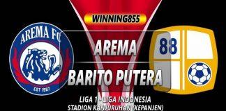 Prediksi Arema vs Barito Putera