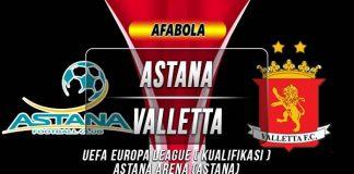 Prediksi Astana vs Valletta