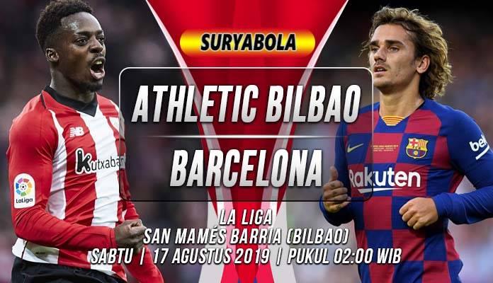 Prediksi Athletic Bilbao vs Barcelona : Laga Pembuka Di La ...