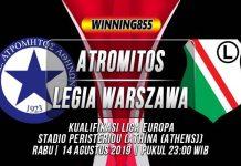 Prediksi Atromitos vs Legia Warszawa